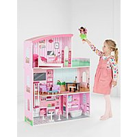Wooden Fashion Dolls House by Asda
