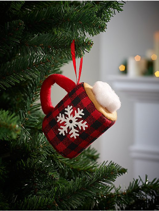 Hot Chocolate Christmas Tree Bauble
