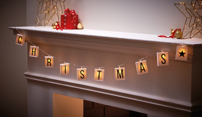 Alphabet Christmas String Light