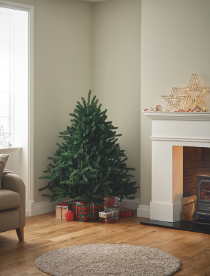 5ft Green Woodland Wide Christmas Tree
