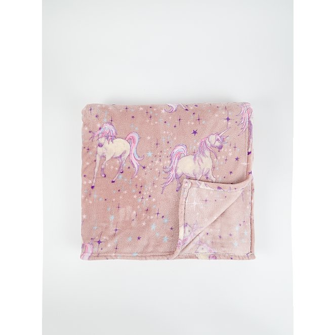 Pink Unicorn Super Soft Extra Large