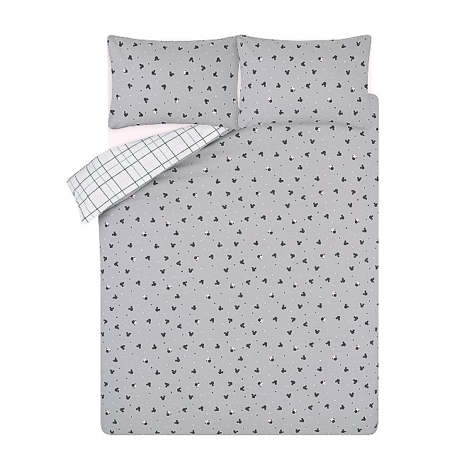Mickey And Minnie Mouse Easy Care Reversible Duvet Set Home George At Asda