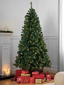 Christmas Trees Artificial Pre Lit Christmas Trees George At Asda