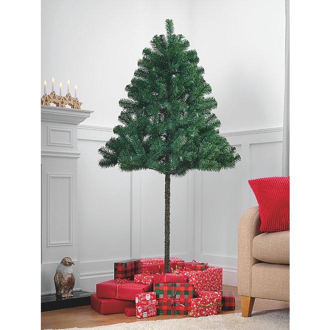 6ft Green Half Christmas Tree Christmas George At Asda