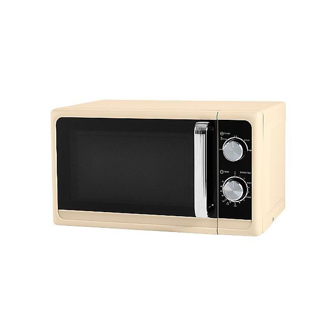 Cream Manual Microwave Home George