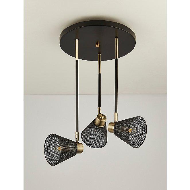 Black Mesh Light Ceiling Fitting Home, Gold Mesh Lamp Shade