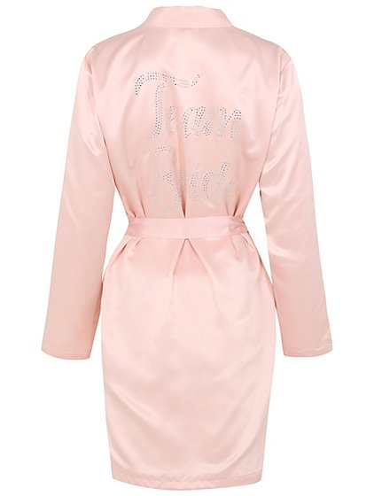Diamante Team Bride Dressing Gown | Women | George