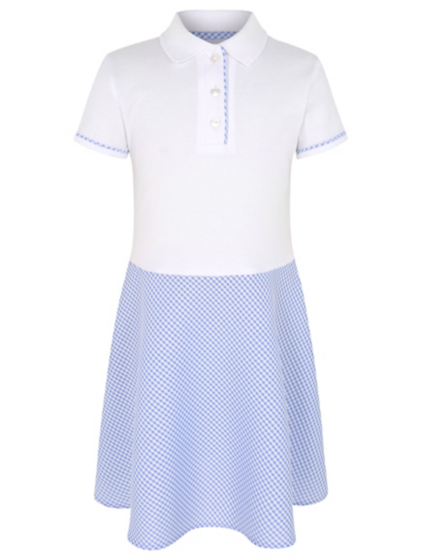 A super smart collection of girls' school dresses to get her ready for next term. Embrace the classic trend with dresses in gingham and pinafore styles perfect for warmer weather, and build her wardrobe with school clothes including shirts, trousers and skirts.