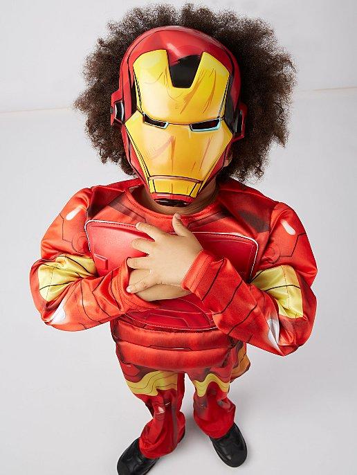 Marvel Avengers Iron Man Light Up Fancy Dress Costume Kids George