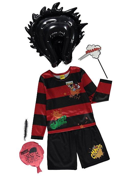 Dennis the Menace Boys Fancy Dress World Book Day Beano Childrens Kids Costume