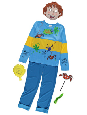 sc 1 st  George - Asda & Horrid Henry Fancy Dress Costume with Accessories | Kids | George