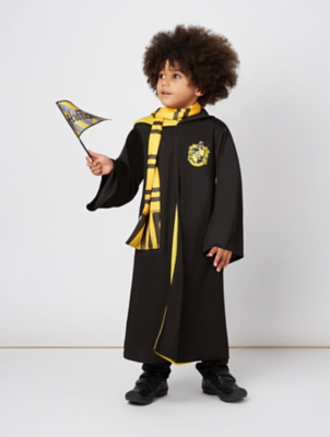 sc 1 st  George - Asda & Harry Potter Hufflepuff Robes Fancy Dress Costume | Kids | George