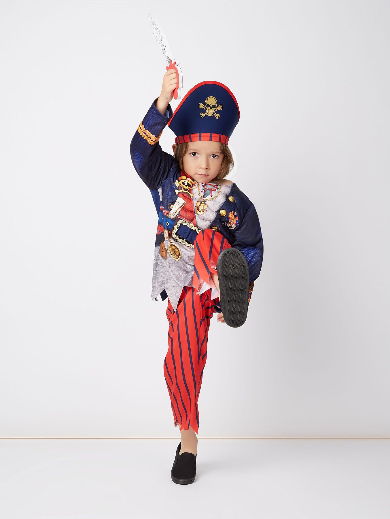 Pirate Fancy Dress Costume Kids George