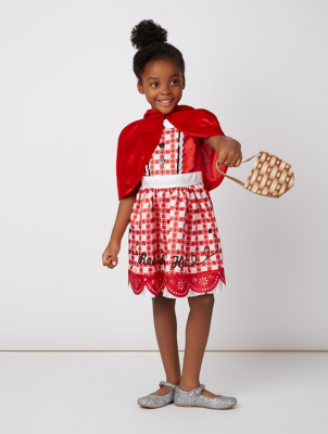 sc 1 st  George - Asda & Little Red Riding Hood Fancy Dress Costume | Kids | George