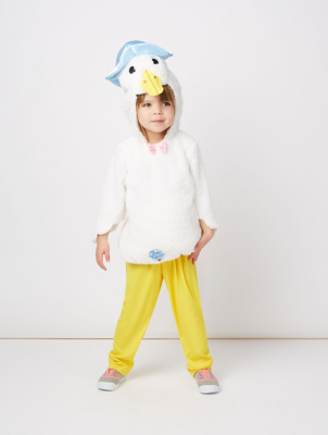 sc 1 st  George - Asda & Peter Rabbit Jemima Puddle-Duck Fancy Dress Costume | Kids | George