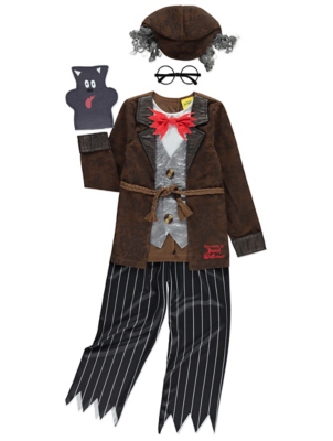 sc 1 st  George - Asda & The World of David Walliams Mr Stink Costume | Kids | George