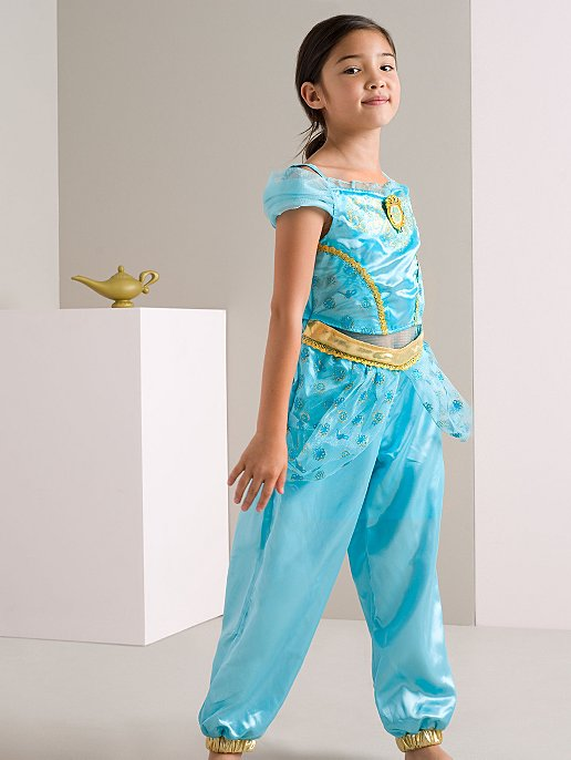Dress Kids Princess Disney George Costume Fancy Jasmine FwfXtXZqT