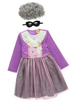 sc 1 st  George - Asda & The World of David Walliams Gangsta Granny Costume   Kids   George