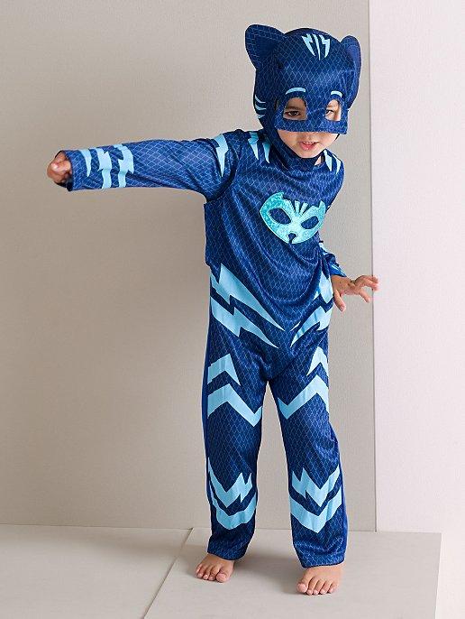 Pj Masks Halloween Costume.Pj Masks Catboy Fancy Dress Costume