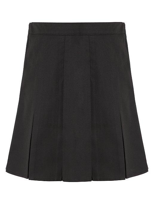 7085ed4f4c Girls Black School Pleated Skirt   School   George