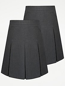 0a1be7e41e Girls School Skirts | Pleated Skirts | George at ASDA