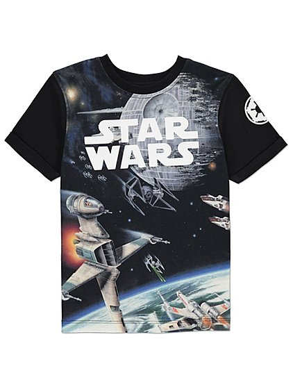 star wars t shirt kids george. Black Bedroom Furniture Sets. Home Design Ideas