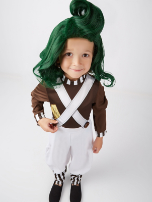 sc 1 st  George - Asda.com & Roald Dahl Oompa Loompa Fancy Dress Costume | Kids | George