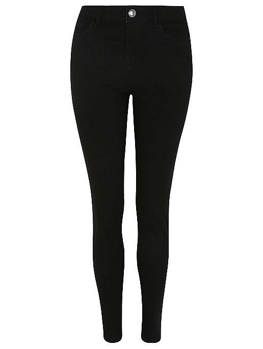 c49c81443d Black Skinny Denim Jeans. Reset