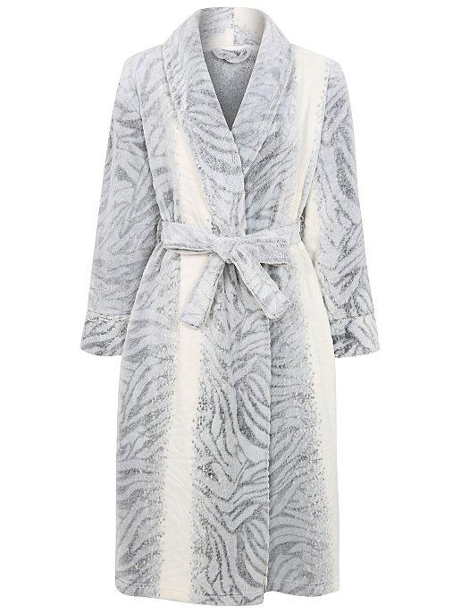 Zebra Print Dressing Gown. Reset 9f68c22dc
