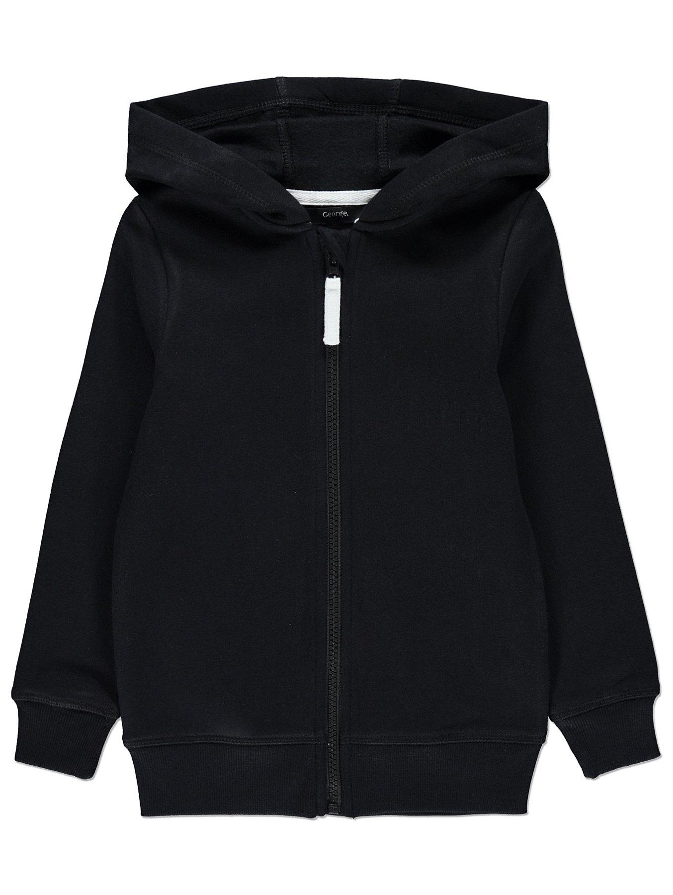 Black Zip-Up Hoodie. Reset a6859a6f1b4