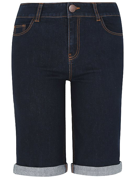 reputable site first look sale usa online Knee Length Denim Shorts | Women | George