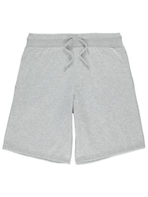 Light Grey Jersey Shorts
