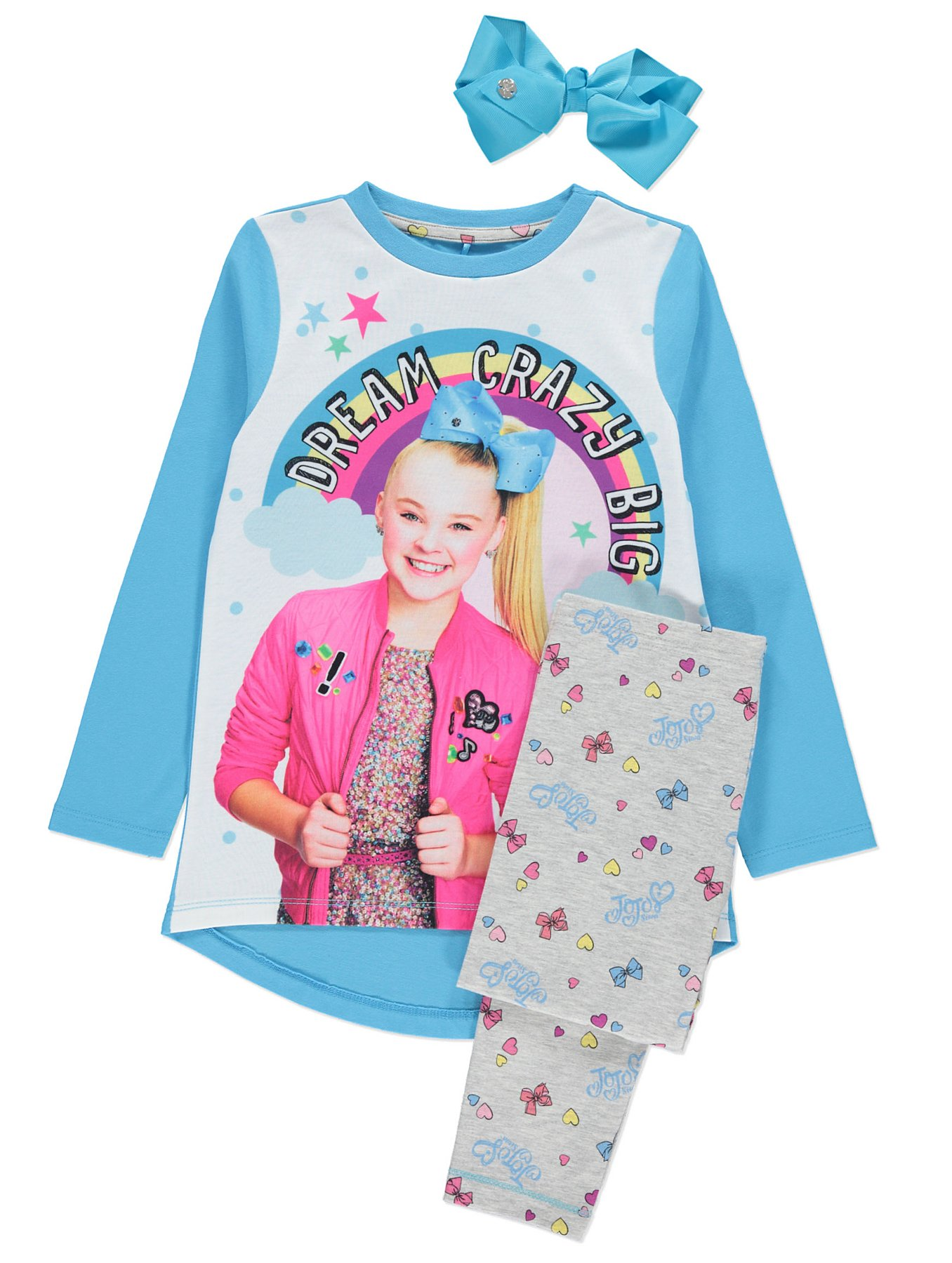 JoJo Siwa Pyjama and Bow Set | Kids | George