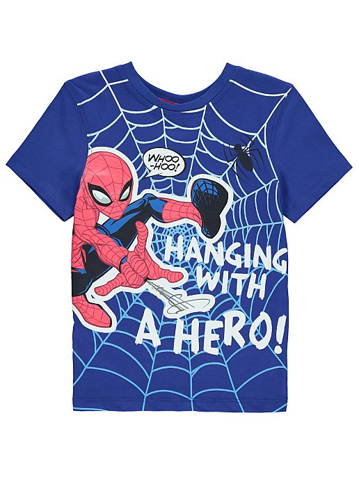 356801fd Marvel Spider-Man T-shirt | Kids | George