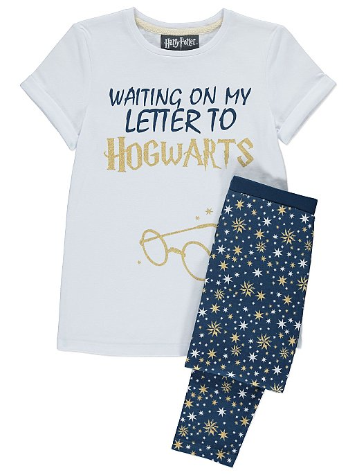 517684defb Harry Potter Hogwarts Slogan Pyjamas