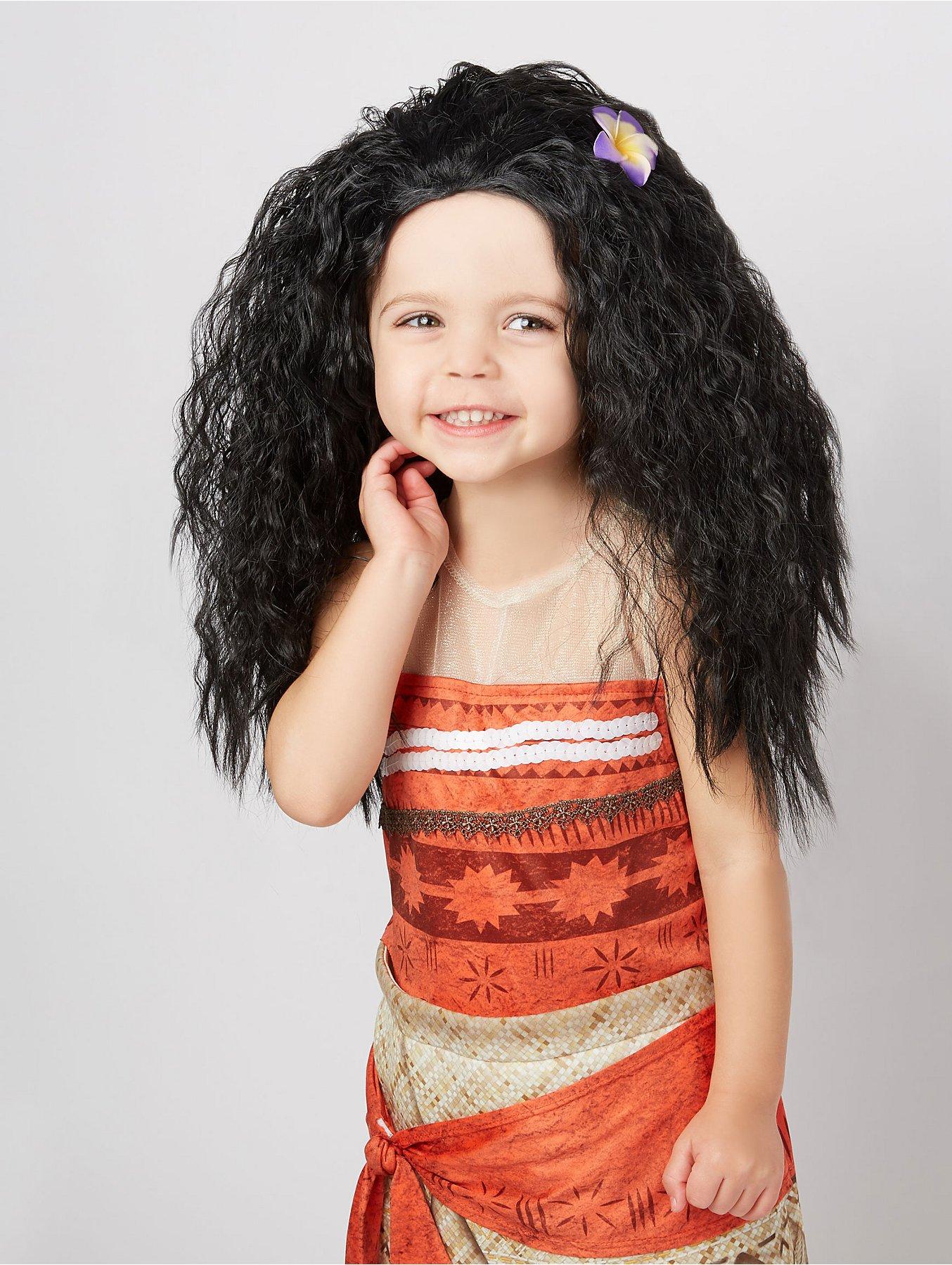 1687bdc6972 Disney Moana Fancy Dress Wig
