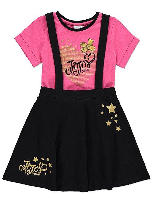 3a8035fdc JoJo Siwa Pinafore Dress and T-shirt Set | Kids | George