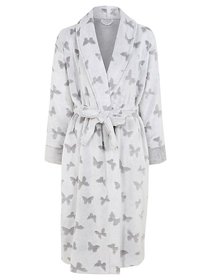 Butterfly Print Dressing Gown   Women   George