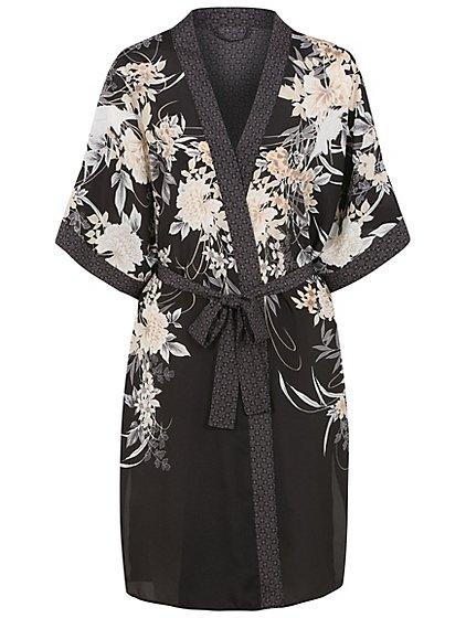 Kimono Waterfall Dressing Gown | Women | George