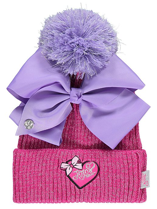 JoJo Siwa Bobble Hat with Removable Bow. Reset bb12b5b043a
