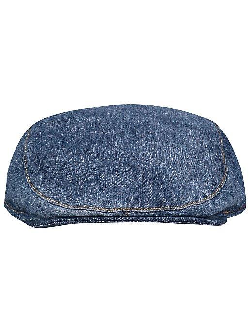 a793351206e94 Denim Flat Cap. Reset
