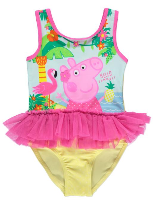 Peppa Pig Tutu Swimsuit Kids George
