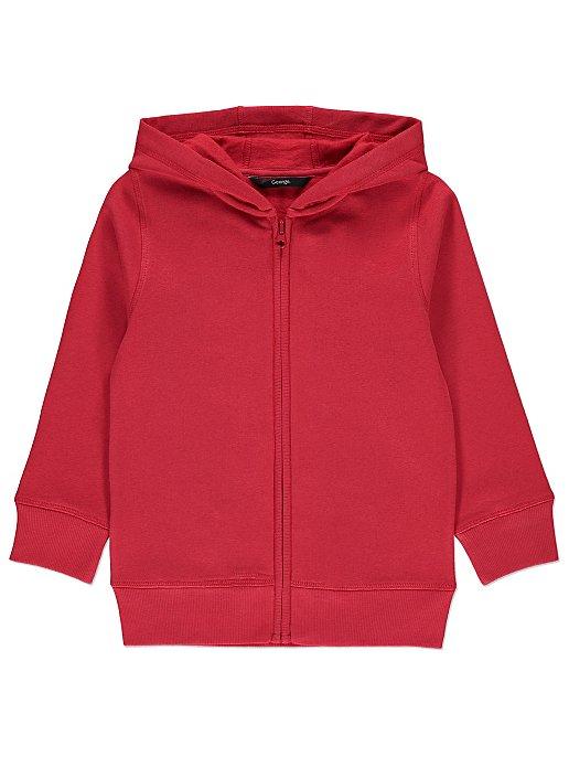 8ffacf350 Red Zip-up Hoodie   Kids   George