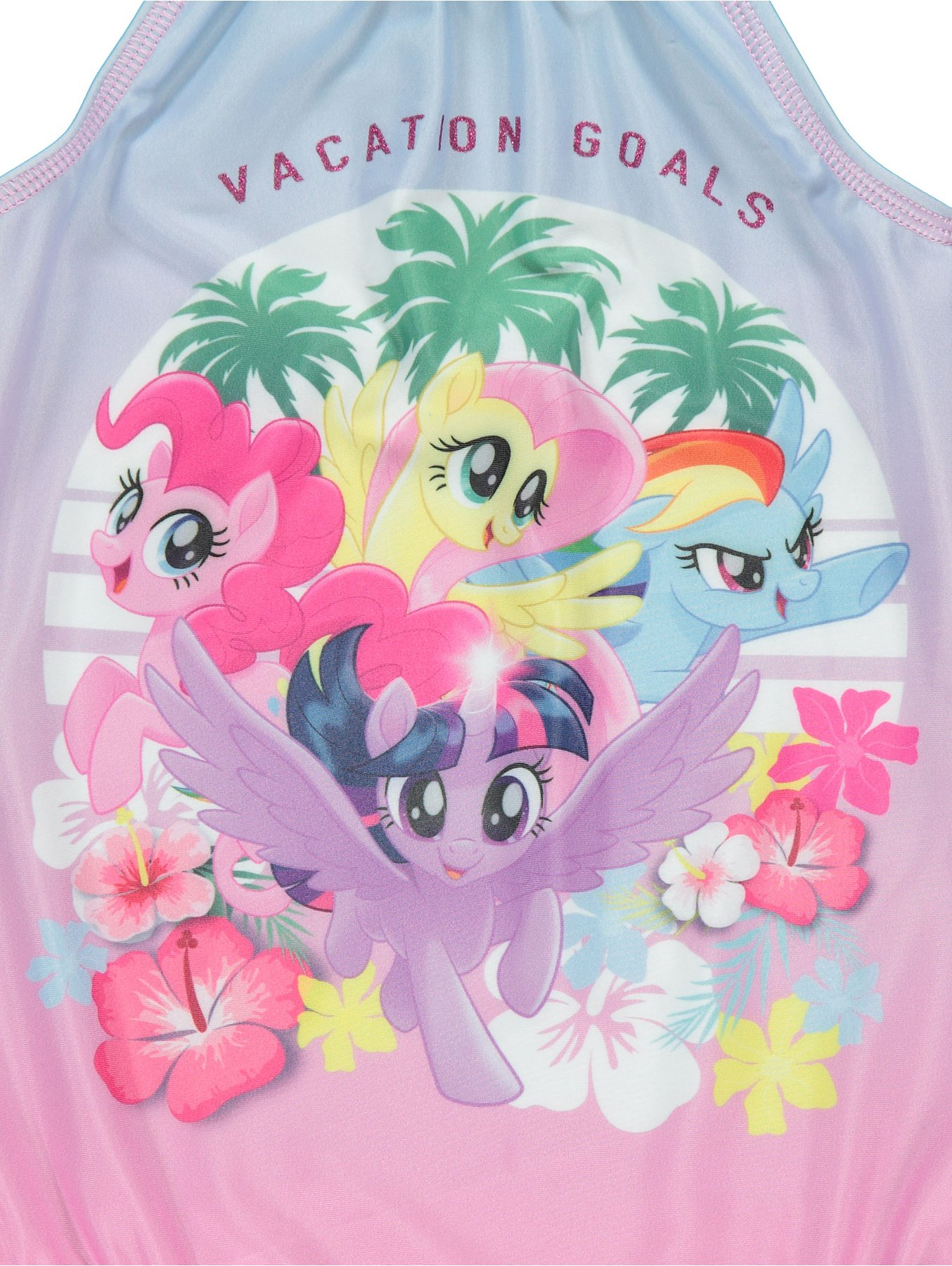 c60bc323ace94 My Little Pony High Neck Swimsuit | Kids | George
