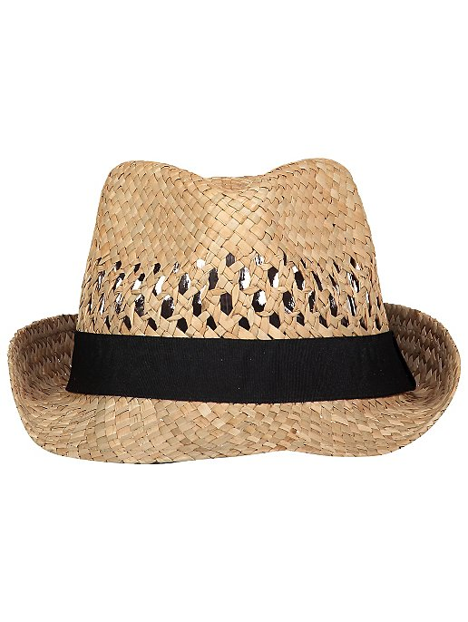 cd29a459409bd Straw Trilby Hat | Men | George
