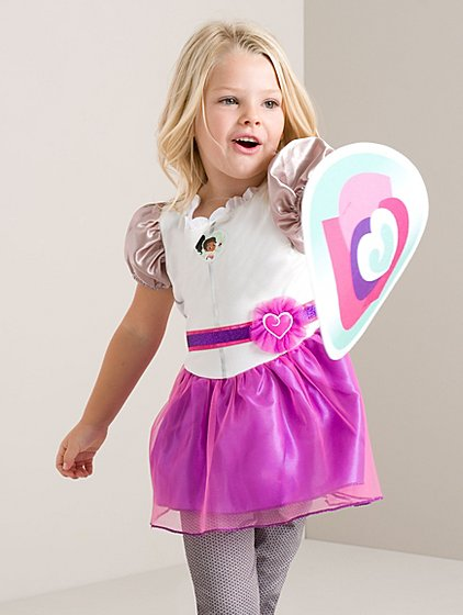 nella the princess knight fancy dress costume kids george