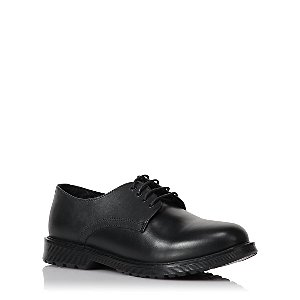 Boys Black Leather School Shoes  1205a0bf6