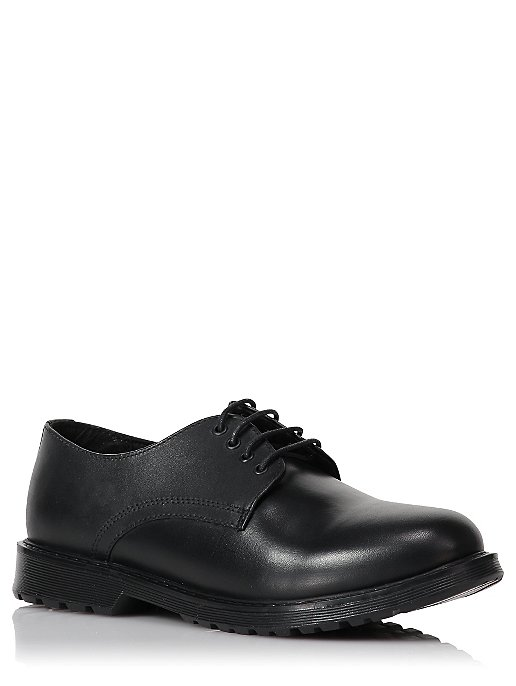 Boys Black Leather School Shoes. Reset 6454d960c