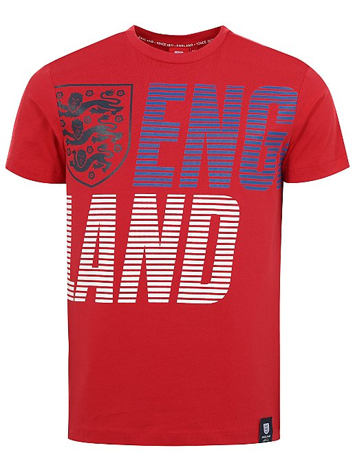 the best online here online shop Official England Football Red T-Shirt