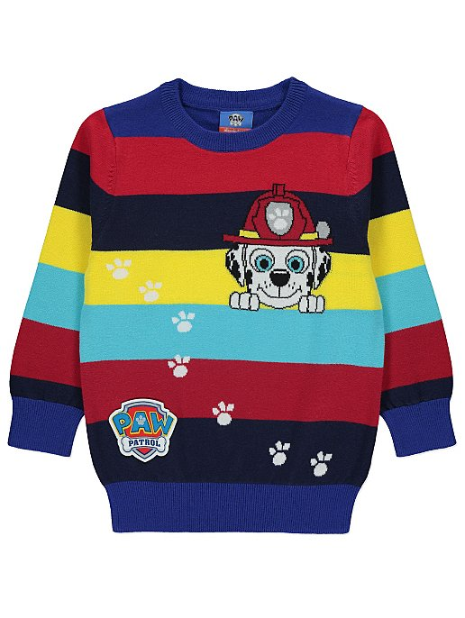 170a5e75371 Red PAW Patrol Marshall Jumper